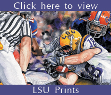 LSU Art Work by Craig Routh