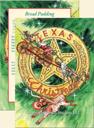 Texas Christmas Cards - Texas Christmas Star