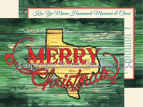 Merry Christmas Texas Holiday Cards