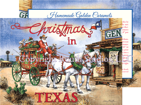 Christmas in Texas Santa's Stagecoach Express